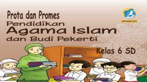 Prota dan Promes Agama Islam Kelas 6 SD K13 Revisi 2018