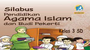 Silabus Agama Islam Kelas 3 SD K13 revisi 2018