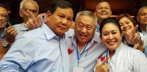 Lieus Pastikan Prabowo Tidak Akan Tinggalkan Rakyat