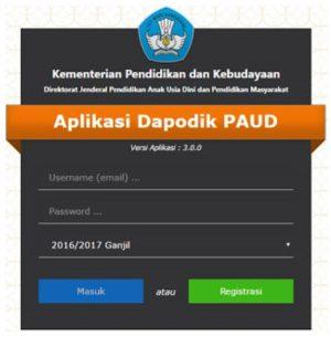 Unduh Rilisan Aplikasi Dapodik PAUD Offline versi 3.5.0
